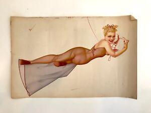 Vintage Pinup Girl Print
