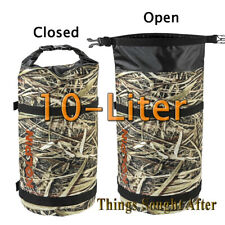 Kolpin Crypsis Camo 10 Liter Waterproof Dry Bag Storage Sack Duck Hunting Boat