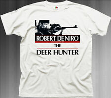 Le cerf Hunter ROBERT DE NIRO Film Movie T-shirt en coton blanc 9934