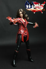 1/6 Scarlet Witch Clothing Set For Elizabeth Olsen Hot Toys Phicen Figure ❶USA❶