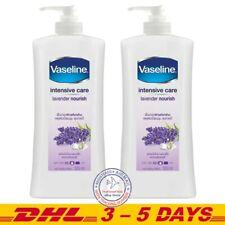 Vaseline Intensive care Lavender Nourish Body Lotion 550 ml x 2