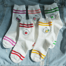 Molang Womens Cute Casual Soft Warm Comfortable Socks US 5-8 Size 5 Pairs #9