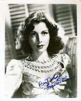 FRANCES DEE PSA DNA Coa Hand Signed 8X10 Photo Autograph Authentic