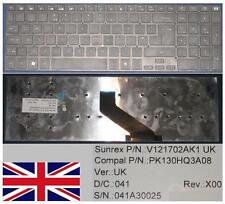 Teclado Qwerty UK GATEWAY NV55 Serie Negro Versión 2, V121702AK1 PK130HQ3A08