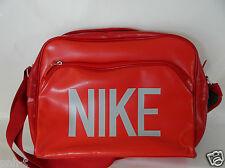 NIKE RED AIRLINE STYLE MESSENGER  BAG RETRO BNWT GYM WORK SCHOOL