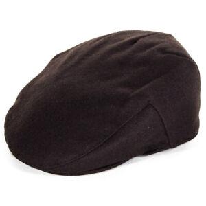 Failsworth Melton Wool Flat Cap - Brown