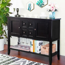 Vintage Antique Buffet Sideboard Cabinet Console Table with Drawer for Entryway