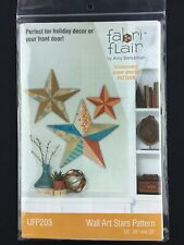 Wall Art Stars Pattern Fabri Flair Indygo Junction