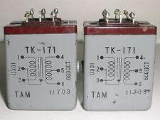 2 pcs Tamura TAMRADIO TK-171 Audio Transformer 10KΩ : 600Ω