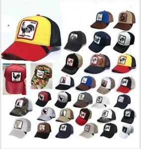 New Goorin Bros COCK Mesh Snapback Animal Trucker Hat Embroidery Baseball Cap