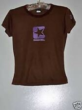 VINTAGE Sm Ezekiel Brown Purple T Shirt Sport Surf Skate Top Soft Cotton Girl