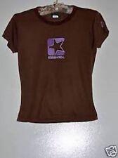 VINTAGE Sm Ezekiel Brown Purple T Shirt Sport Surf Skate Top Soft Cotton Girl