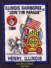 LMH Patch  1988 GOOD SAM CLUB  Motor Home RV Camper SAMBOREE Sam's Parade Circus