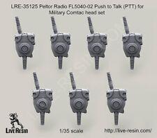 Live Resin 1:35 Peltor Radio FL5040-02 PTT for Military Comtac Headset #LRE35125
