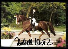 Isabell Werth Autogrammkarte Orginal Signiert Reiten + A 85295