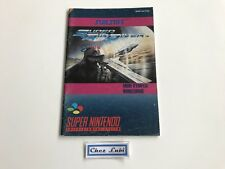 Notice - Super Air Diver - Super Nintendo SNES - PAL FAH