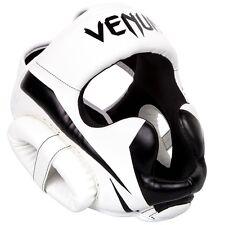 Venum Kopfschutz Elite White/Black- Kopfschutz Boxen MMA Kampfsport Kopfschützer