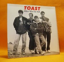 "7"" Single Vinyl 45 Toast Alles Wit En Stil 2TR 1991 (MINT) Pop Rock MEGA RARE !"