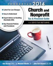 Zondervan 2014 Church and Nonprofit Tax and Financial Guide: For 2013 Tax