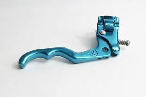 VINTAGE MX OLD SCHOOL BMX BIKECYCLE RIGHT BRAKE LEVER BLUE 22.2mm