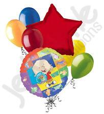 7 pc Stanley Disney Cartoon Balloon Bouquet Happy Birthday Party Decoration Gift