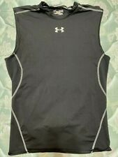 New listing Under Armour Compression Men's Black Tank Top XL