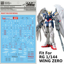 Decal Water Slide Decal Paste Sticker For Bandai RG Wing Zero EW Gundam Model