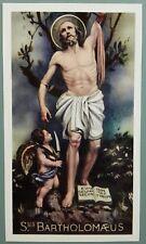 SANTINO San Bartolomeo HOLY PRAYER SANTINI HOLY CARD PIEUS CARD BLESSED