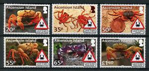 Ascension Island 2018 MNH Land Crabs 6v Set Crustaceans Marine Stamps