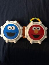 Sesame Street Carrying Case Toy Elmo Cookie Monster