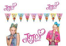 Jojo Siwa *HANDMADE* Banner Bunting Flag. Party Supplies Lolly Loot Bag Cake