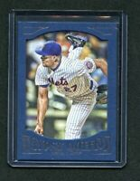 2016 (New York Mets) Topps Gypsy Queen Framed Blue #75 Jeurys Familia