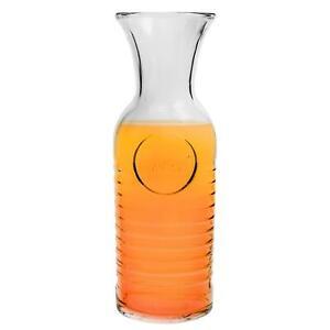Glass Water Carafe 1.2 Litre Bormioli Rocco Italian Serving Jug