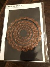 "New listing Spellbinders ""Lacey Circles"" Thinlits Die Cut Nestabilities Stampin' Up!"