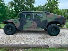2001 M1043A2 Military Humvee 4 Door Hard Top Slant Back 6.5 Turbo Diesel With Ac