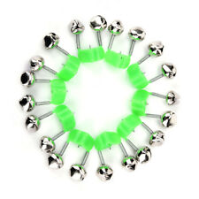 4 South Bend Alert Bells-Glow In The Dark Rod Clips-US Military Veteran Seller