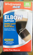 Ace Weak Elbow Support fits L/R Adjustable latex free Antimicrobial #70232