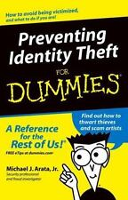 NEW ~ Preventing Identity Theft For Dummies, Paperback ~  Free S/H