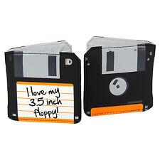 Floppy Disc Wallet. Funky Retro Geeky Nerd Gift Cash Coin