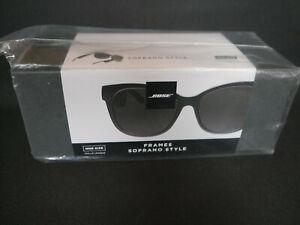 BOSE FRAMES SOPRANO STYLE, Bluetooth Sonnenbrille, one Size, schwarz, Neu/OVP