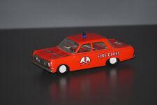 VEB Plasticart Opel Rekord Blech Friction Fire Chief DDR Ostalgie