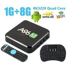 OTT TV Box Media Center Wireless Keyboard A96M RK3229 Quad Core mini touchpad