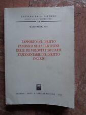 M. FERRANTE - L'APPORTO DEL DIRITTO CANONICO - DOTT. A. GIUFFRE' - 2008
