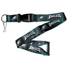 Pro Specialties Group Philadelphia Eagles Fly Eagles Fly Green Tagline Wristlet Lanyard Key Holder