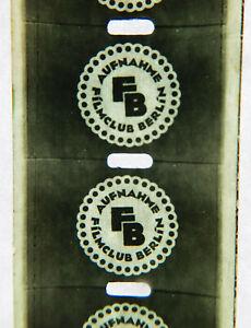 """Ernemann – 17,5 mm Film – Privataufnahmen des """"Filmclub Berlin"""""""
