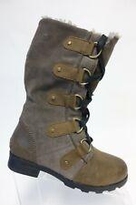 SOREL Brown Sz 6 Women Lace-Up Winter Boots