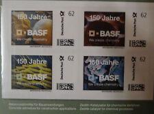 *** Jubiläumsbriefmarken 150 Jahre BASF ****
