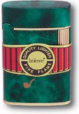 Lucinne Lincoln Fine Pipe Flint Regular Flame Refillable Butane Pipe Lighter