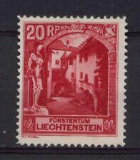 Liechtenstein 1930 Sg # 99b 20r Scarlet Mh P11.5 #a 2627