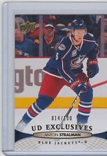 11-12 2011-12 UPPER DECK ANTON STRALMAN UD EXCLUSIVES /100 152 BLUE JACKETS